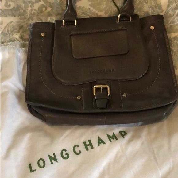 1394fe0dff8 Longchamp Bags   Balzane Leather Tote   Poshmark